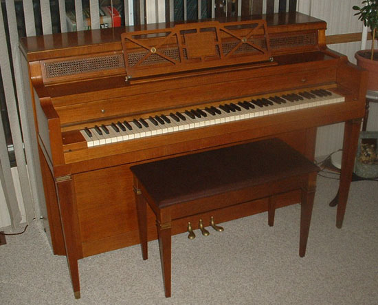 Piano types ages and sizes for Small grand piano size
